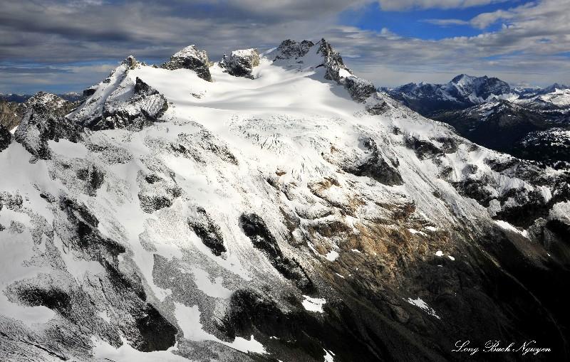 Dome Glacier on Dome Peak, North Cascade Mountains