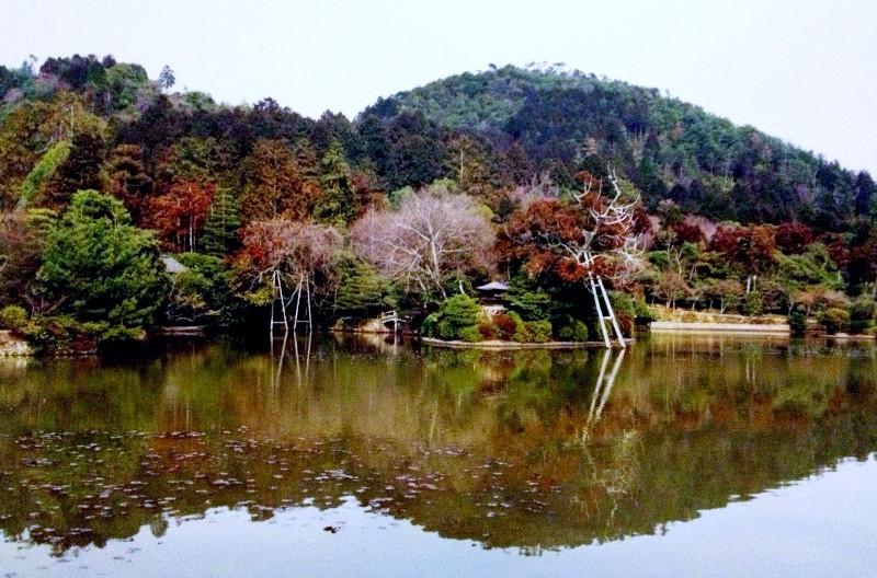 Perfect reflection Kyoto, Japan 2000