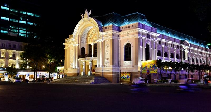 Saigon Opera House, Dong Khoi street, Saigon, Vietnam