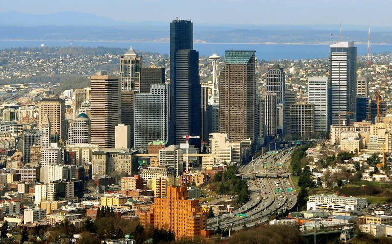 Seattle busy city