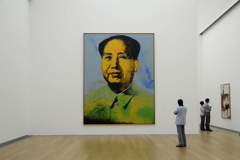 Andy Warhols Mao at the Hamburger Bahnhof Museum