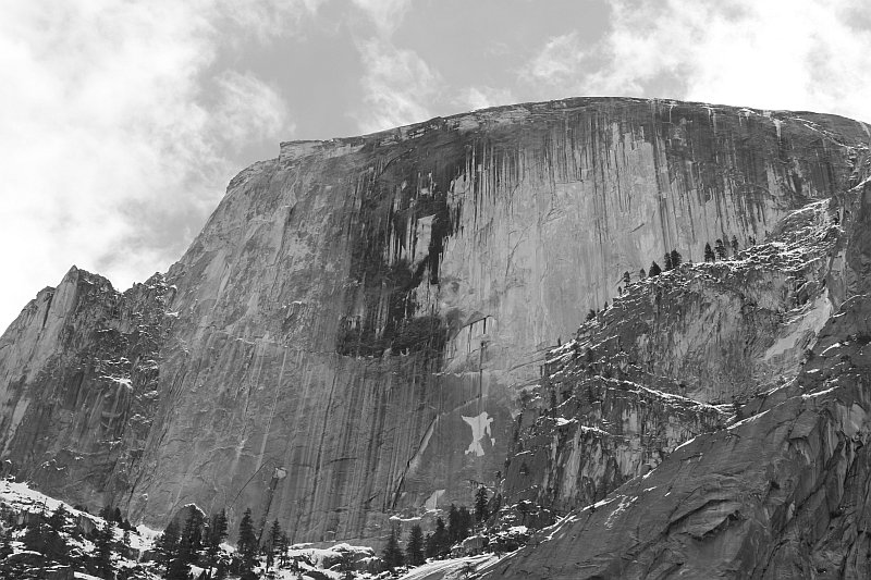 Half Dome from Mirror Lake Trail
