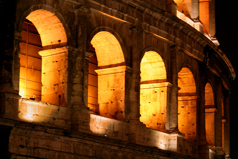 Colosseum by night - 10:20pm