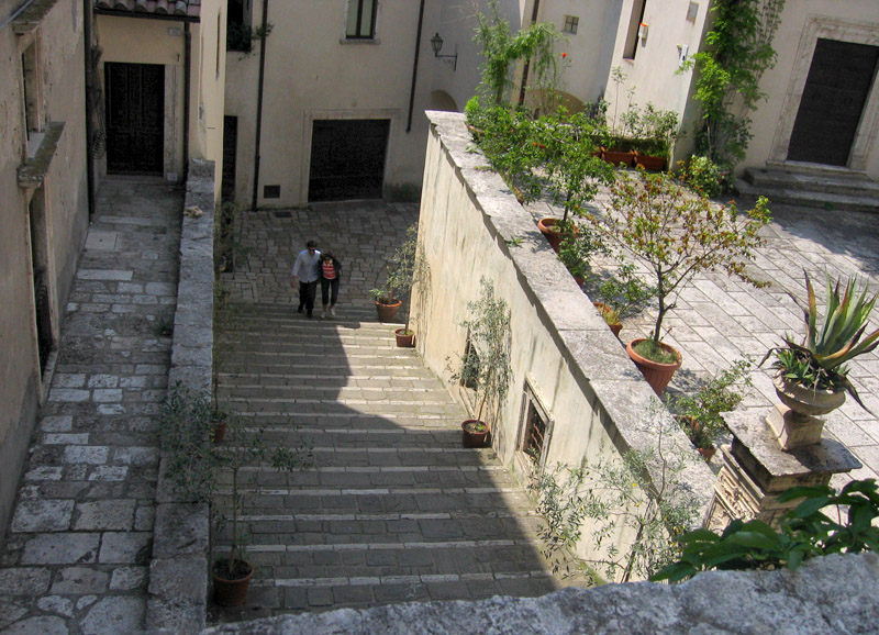 Steps to the Archeological Museum