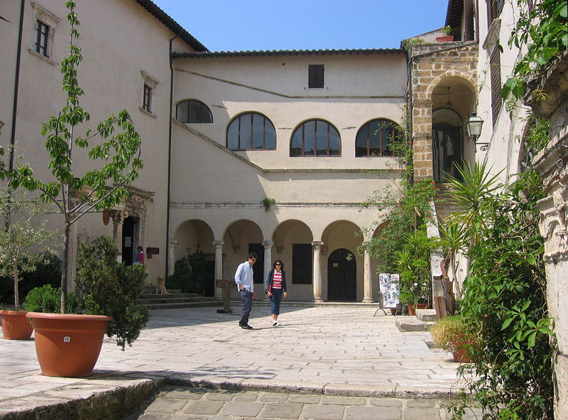 Orsini Palace and Museum of Archeological area