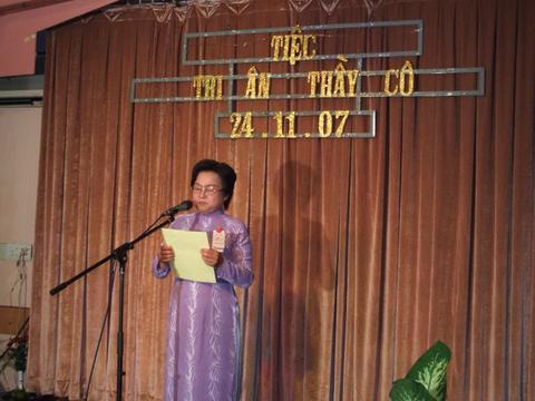 Chị Chung Yến Nhi giới thiệu Chuõng Trinh