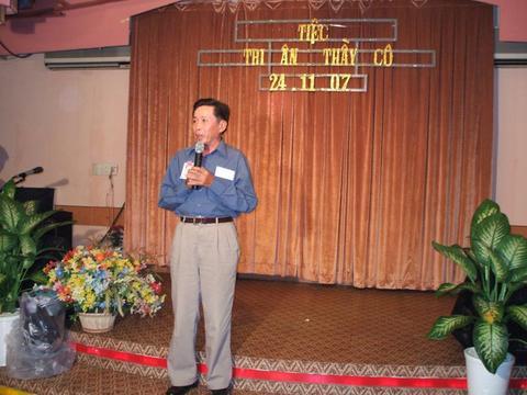 Thầy Hiệu Ðoàn Truởng Huỳnh Thanh Hải