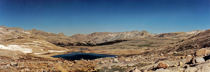 Humhphrey Basin Looking West from Paiute Pass, Eastern Sierra Nevadas