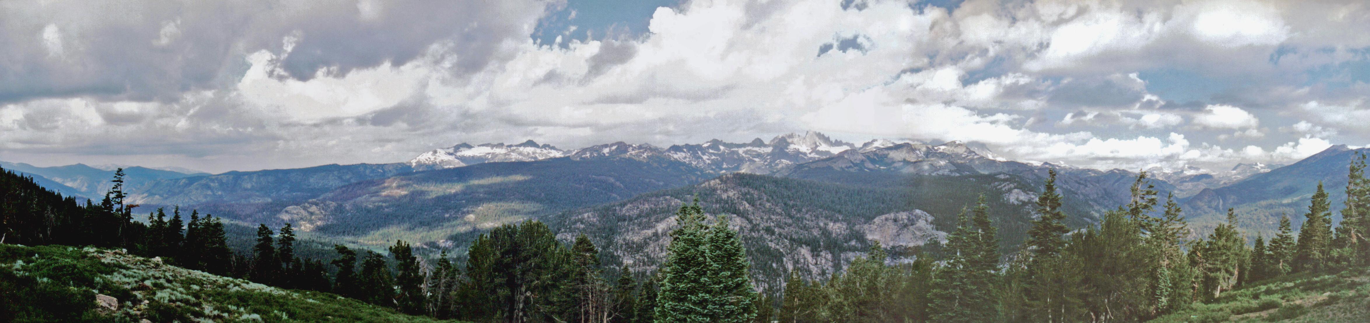 The Minarets,  Eastern Sierra Nevadas
