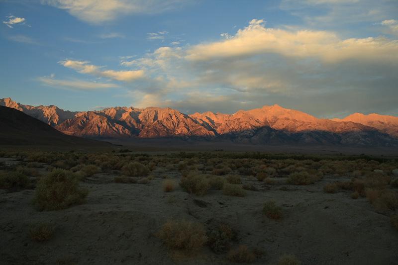 Sierra Crest at Sunrise