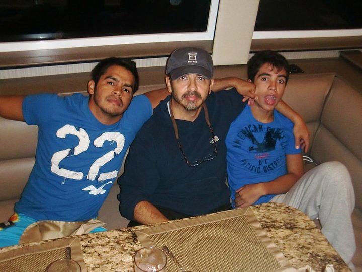 the three amigos....