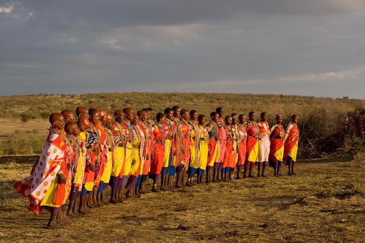 Maasai Ritual Dance