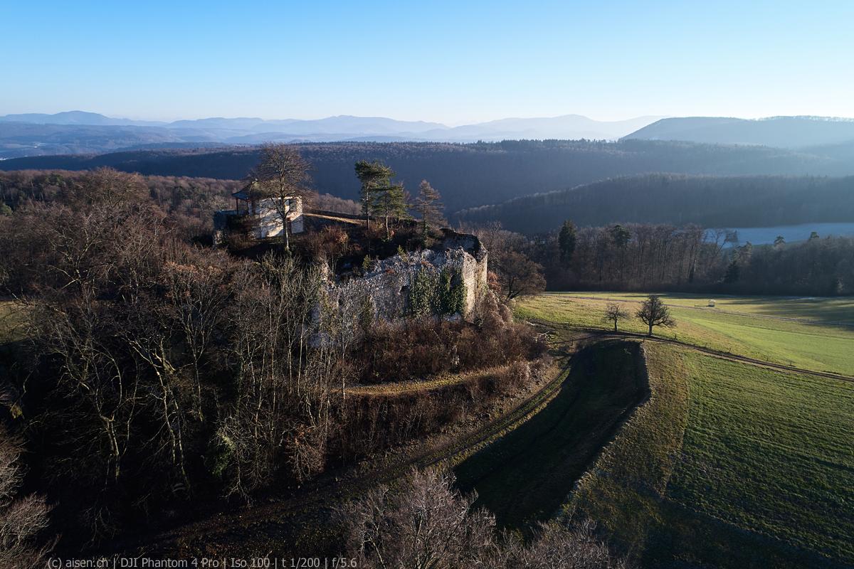 Ruine Schauenburg Winter