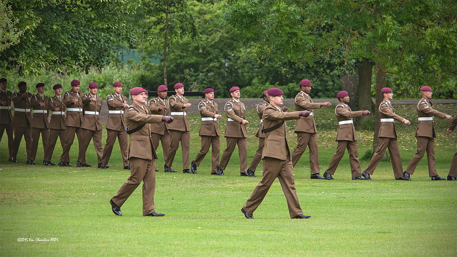 Gunners Of 7th Parachute Regiment Royal Horse Artillery 7 PARA RHA