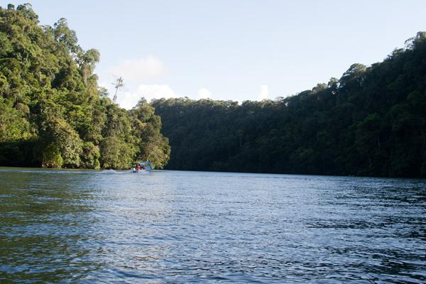Vista del Area llamada Cañon del Rio Dulce