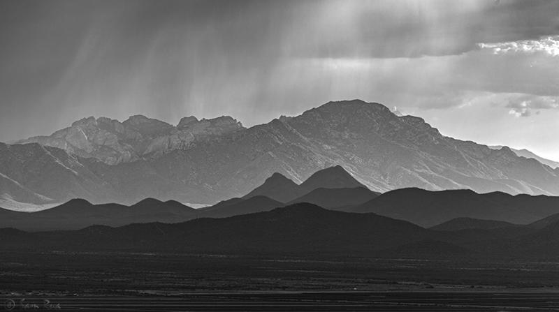 Quinlan Mountains and Kitt Peak