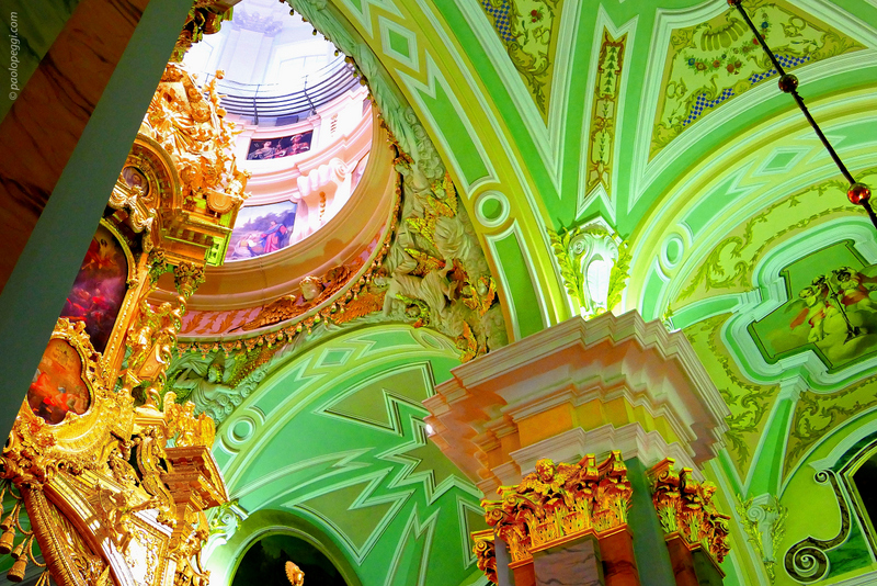 Saint Petersburg, Peter and Paul Cathedral: Tomb of Peter I