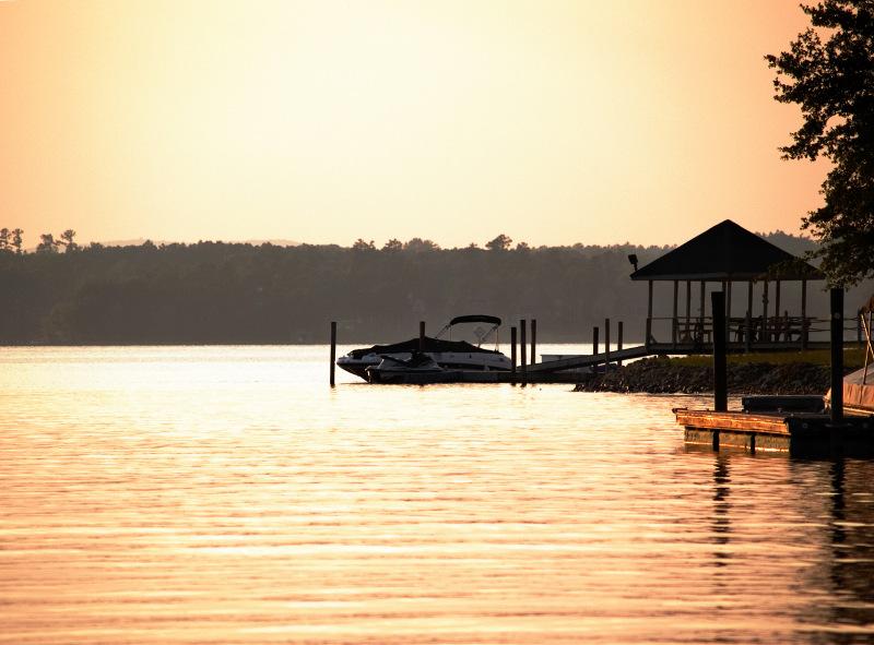 Sunset at Norman Lake, NC - Bao Ha