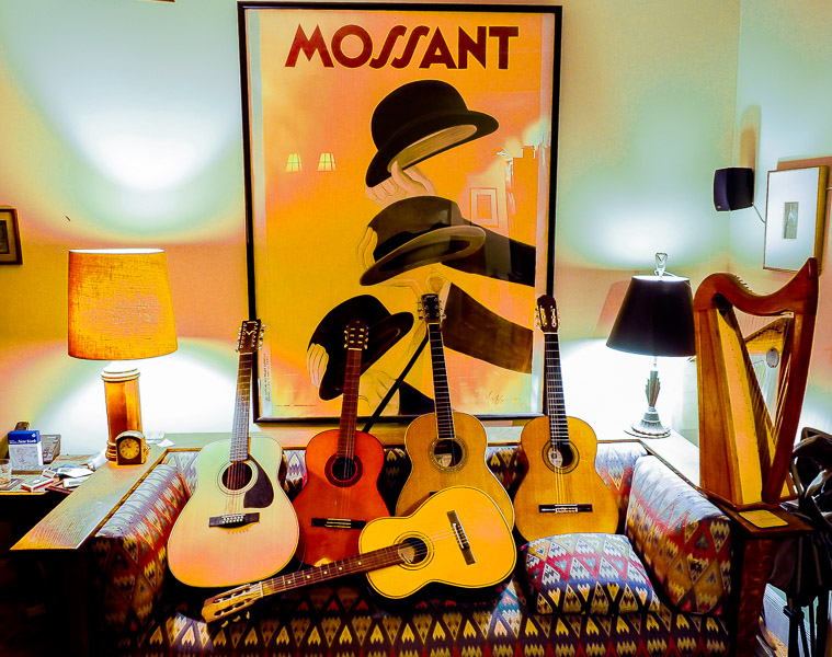 My Living Room & Guitars - Brad