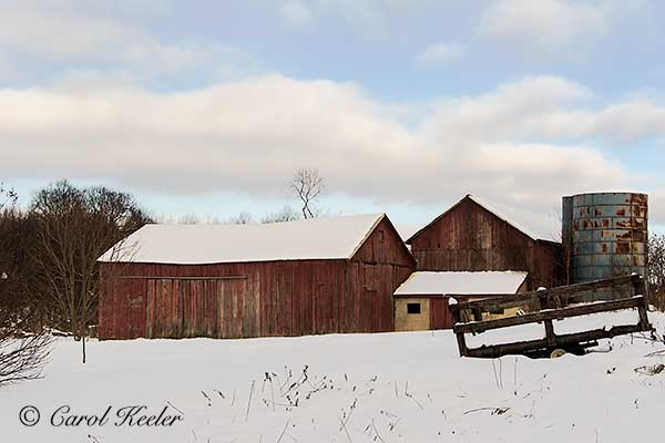 Old Barn and Trailer