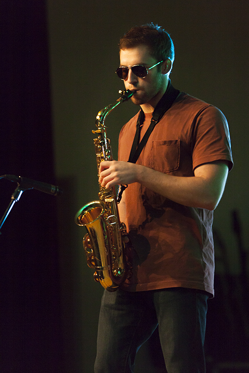 Playing Sax For The Band N.A.R.P.