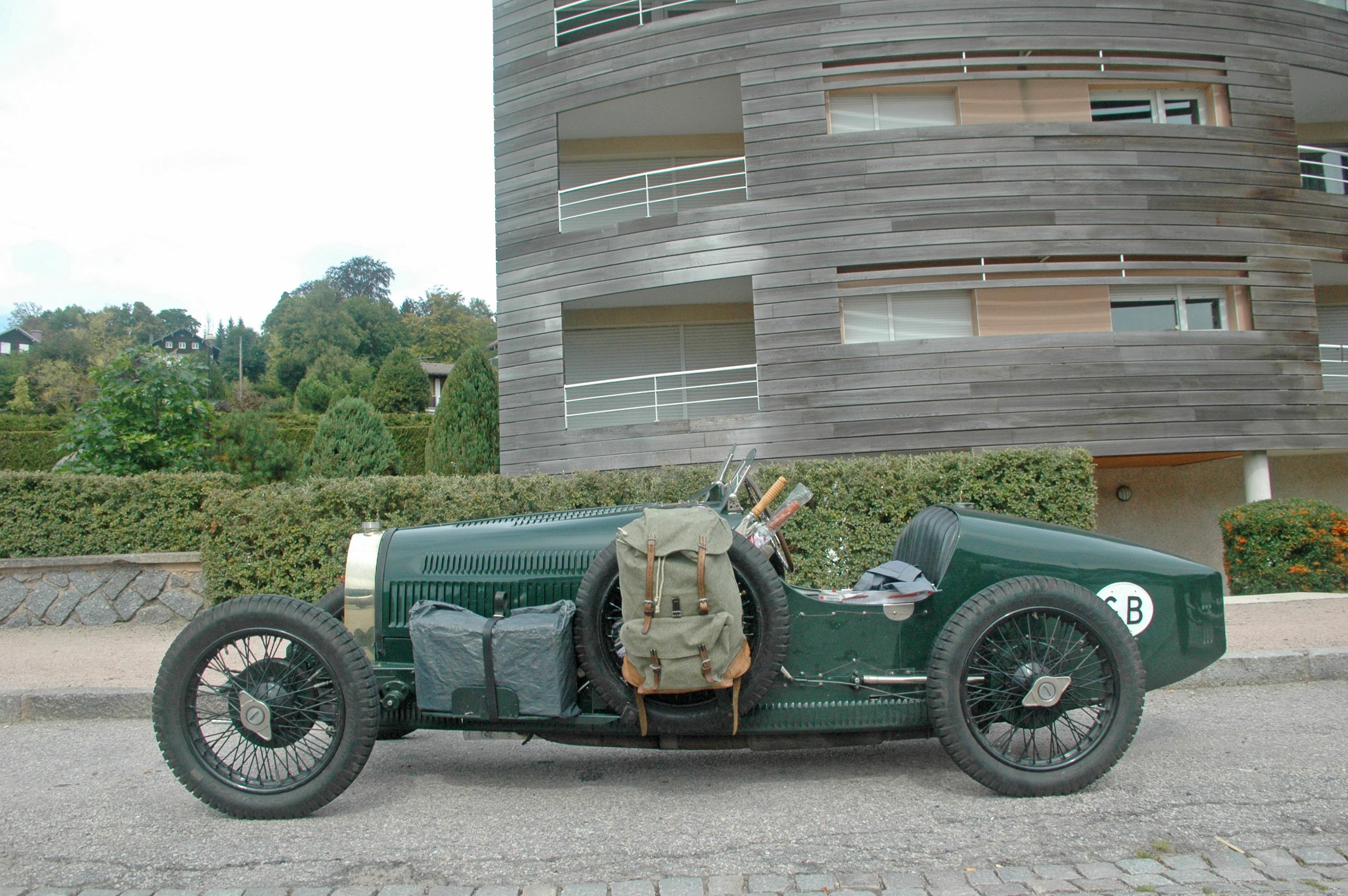 1927 Bugatti type 37A R GP châssis BC117