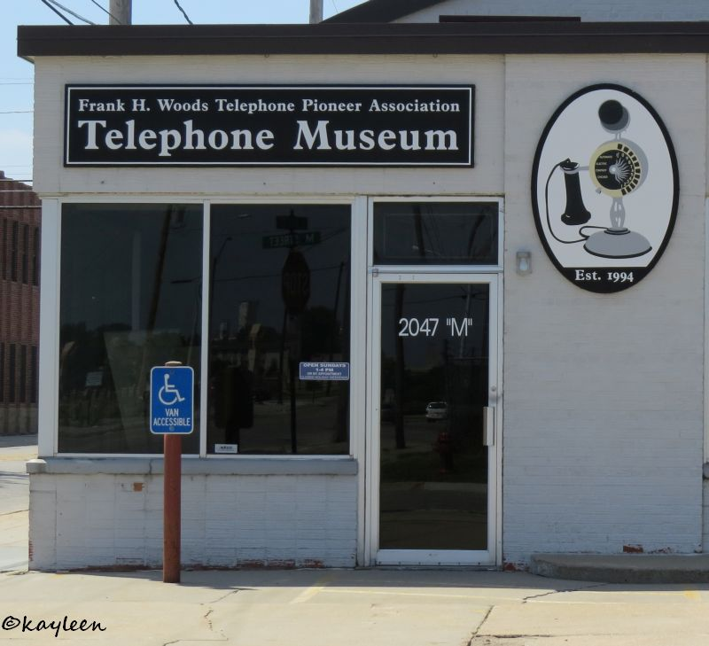 Frank H. Woods Telephone Pioneer Association<br>Telephone Museum