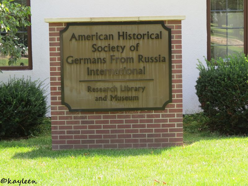 American Historical Society of Germans from Russia Intl. <br>Research Library and Museum