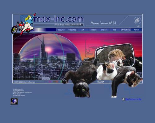 Max-Inc.com 2000-2005