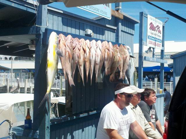 Marco Island, the catch of the day at