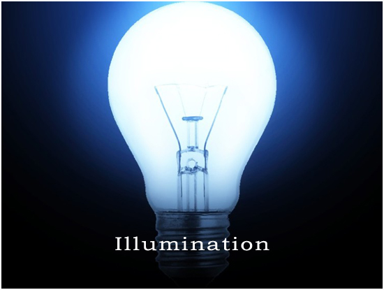 illumination, image of light bulb