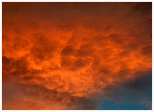 Fire in the Sky - Salton Sea California