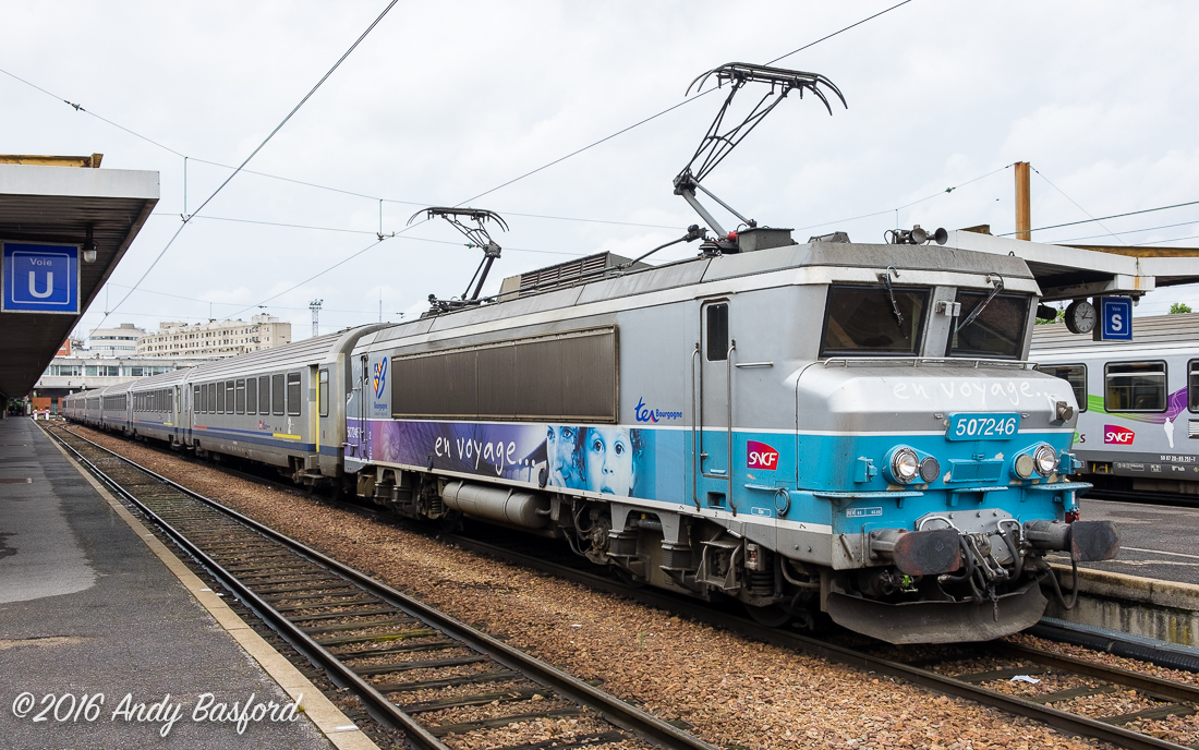 SNCF Class BB 7200 507246 at Gare de Bercy, Paris, 2/8/16