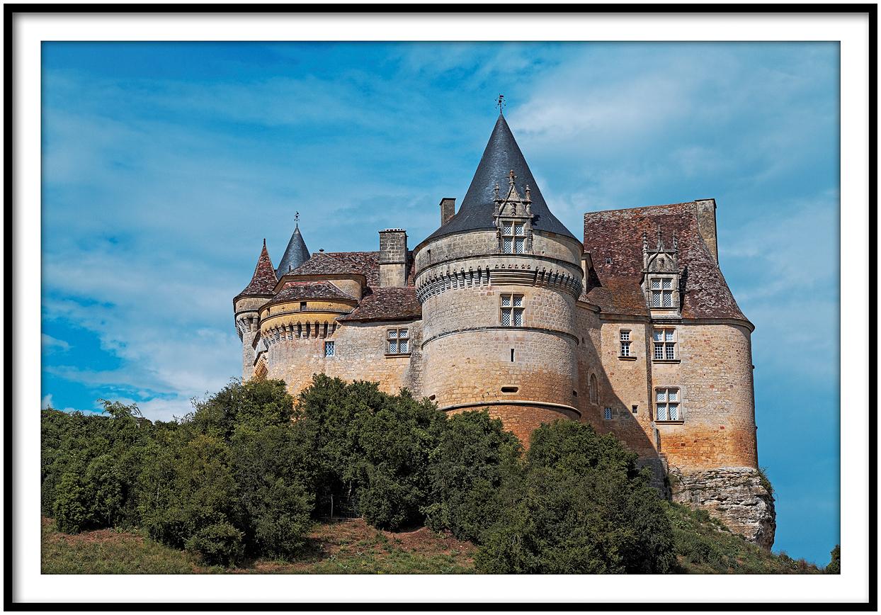 Le château de Bannes en Périgord
