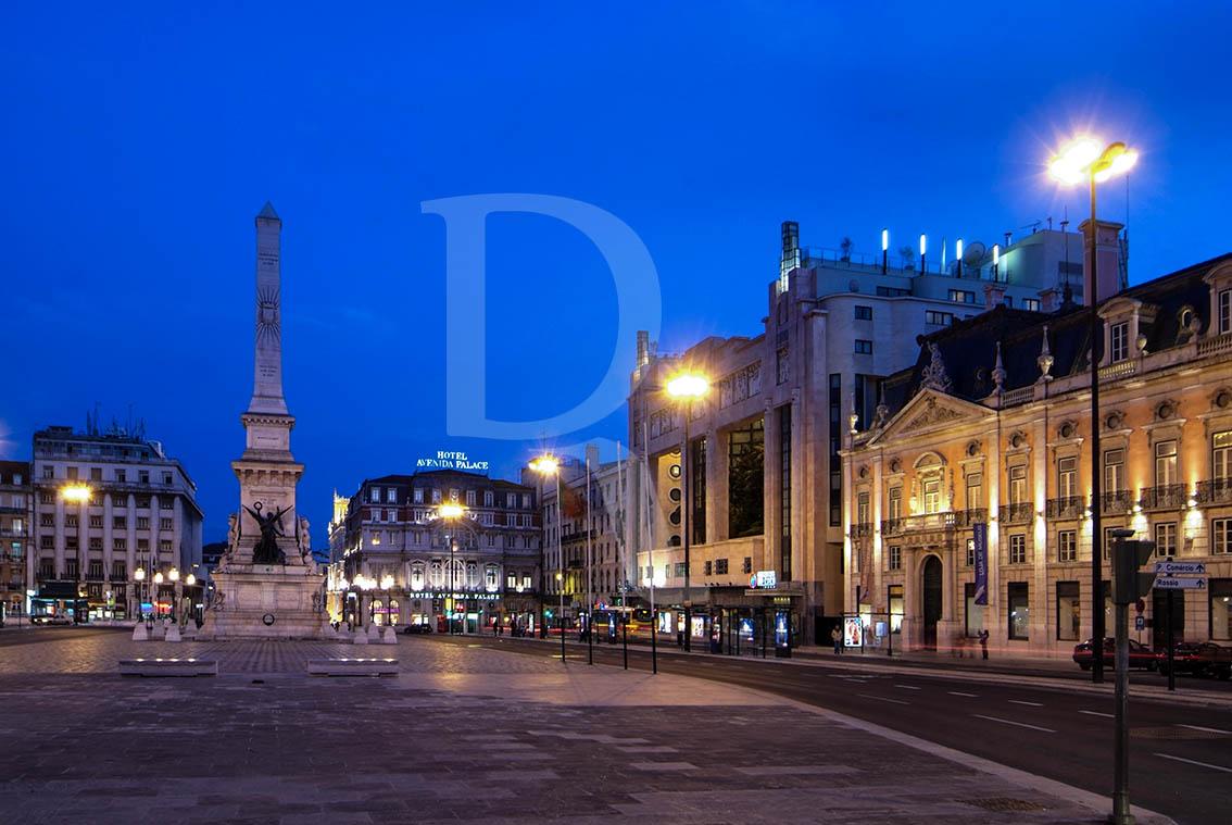 Palácio Foz, Eden e Obelisco dos Restauradores