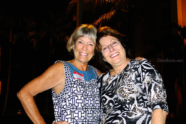 January 2014 - Brenda and Linda the night before they left for Russia and the Winter Olympics in Sochi
