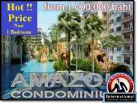 Pattaya, Chonburi, Thailand Condo For Sale - New Release Condo 1 Bedroom in Jomtien