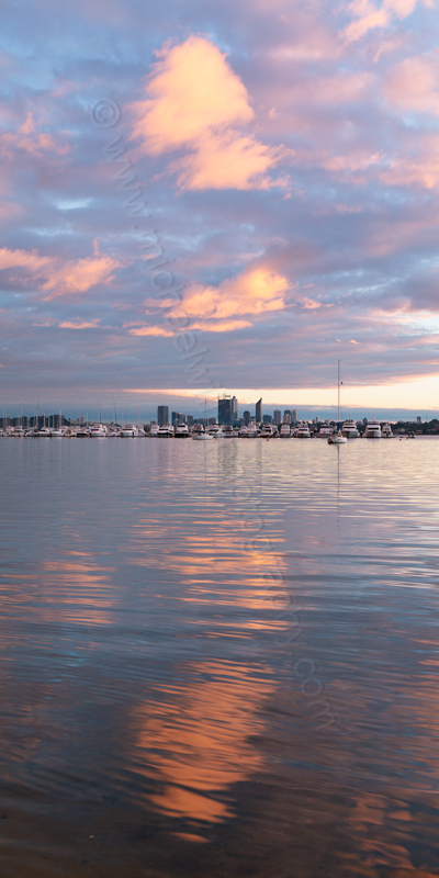 Applecross and The Swan River at Sunrise, 30th July 2013