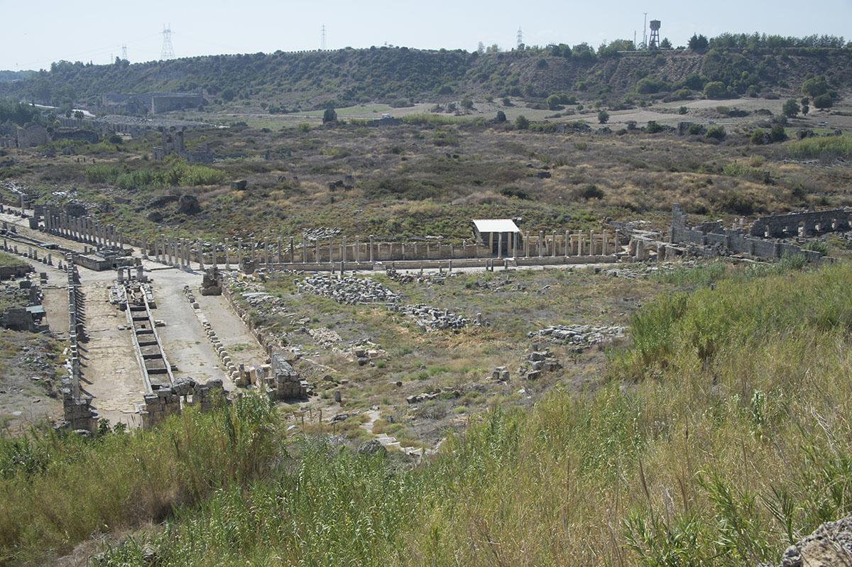 Perge Acropolis area shots October 2016 9533.jpg