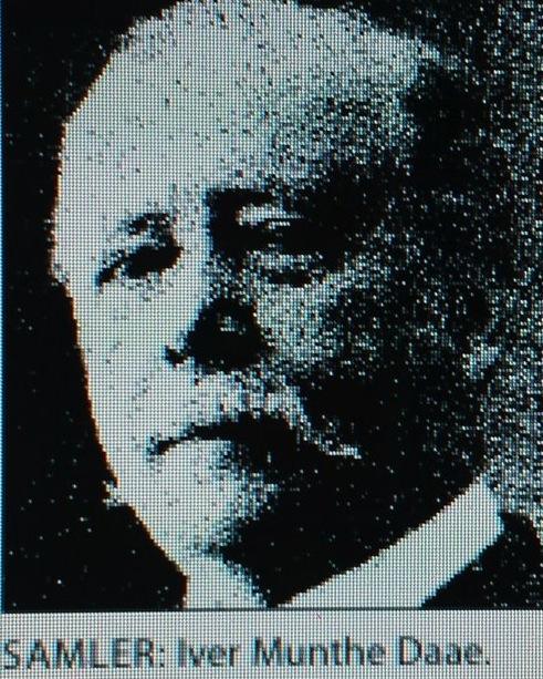 Iver Munthe Daae etter Johanne Huitfeldts artikkel
