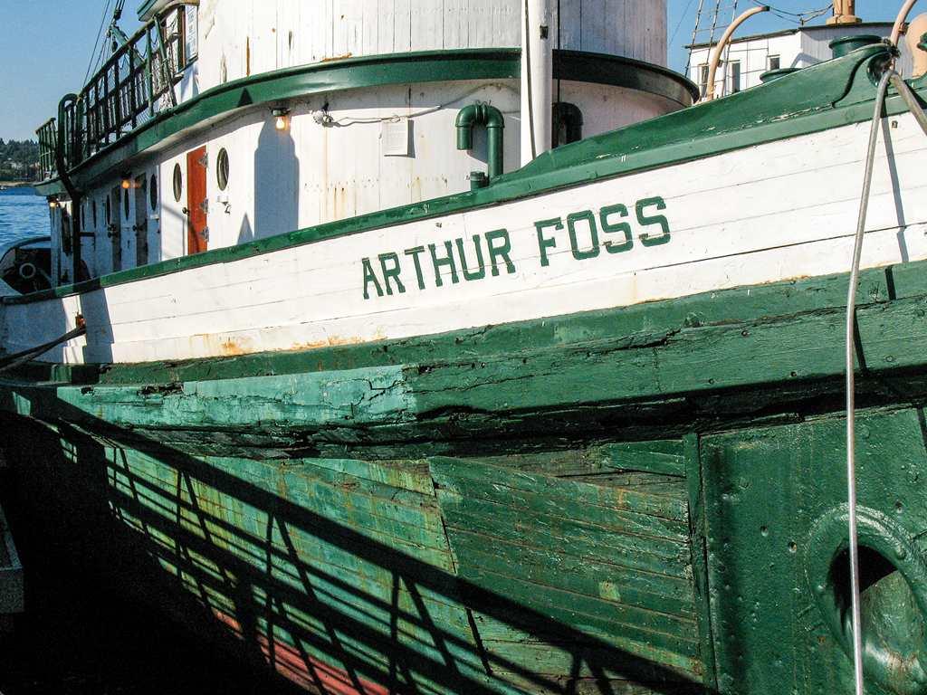 Tugboat Arthur Foss (1889) - towed prospector supplies during Klondike Gold Rush