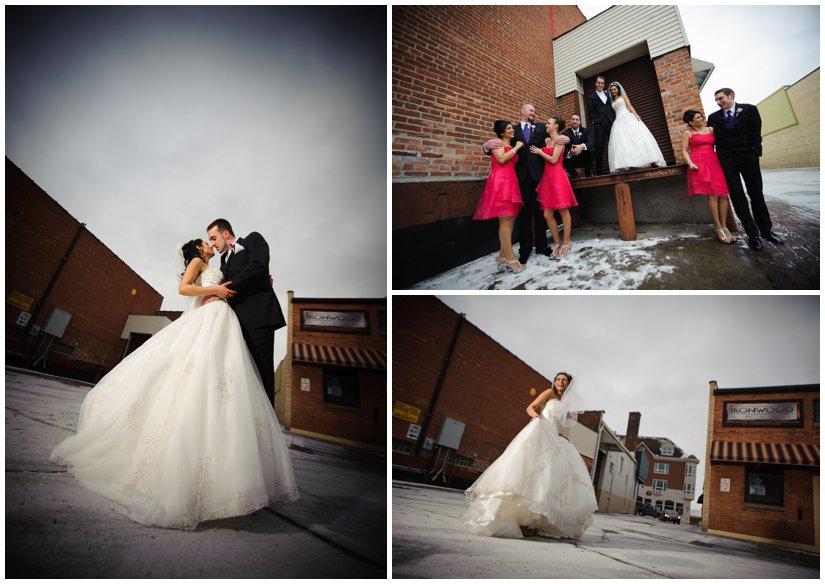 Winter Wedding Plymouth Michigan