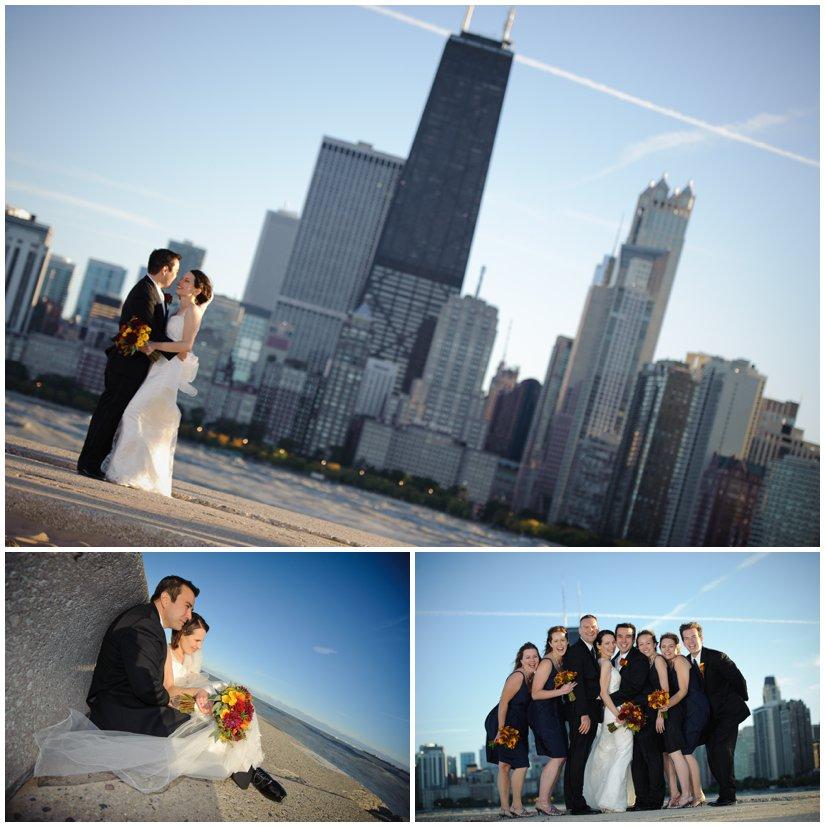 Autumn Chicago Wedding Photographs