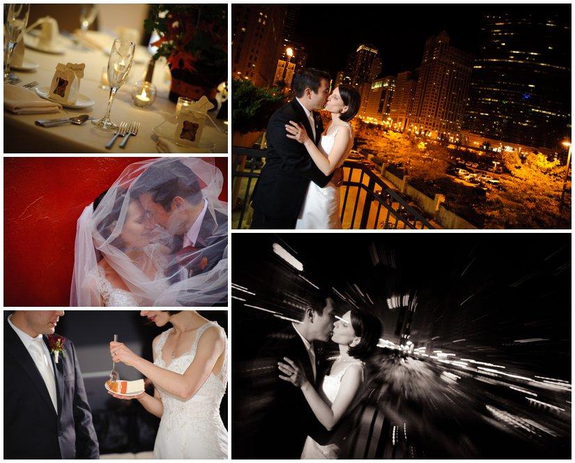 Chicago Skyline Wedding Pictures