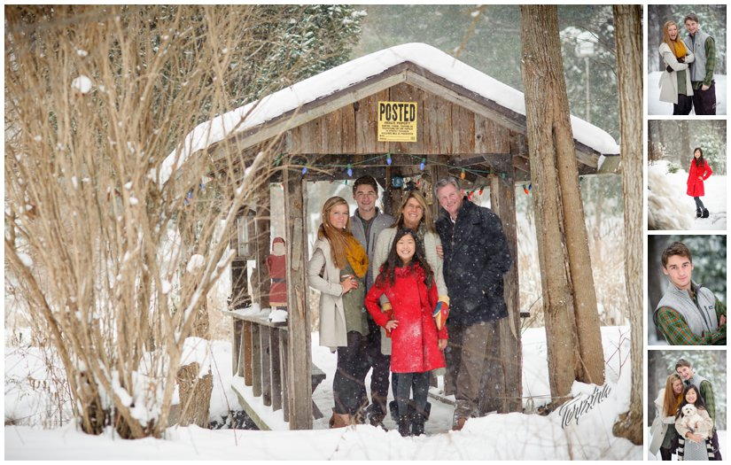 Ada Family Photography in the snow