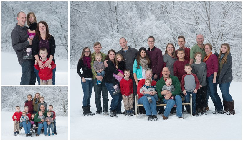 Grand Rapids Family Photography in the winter