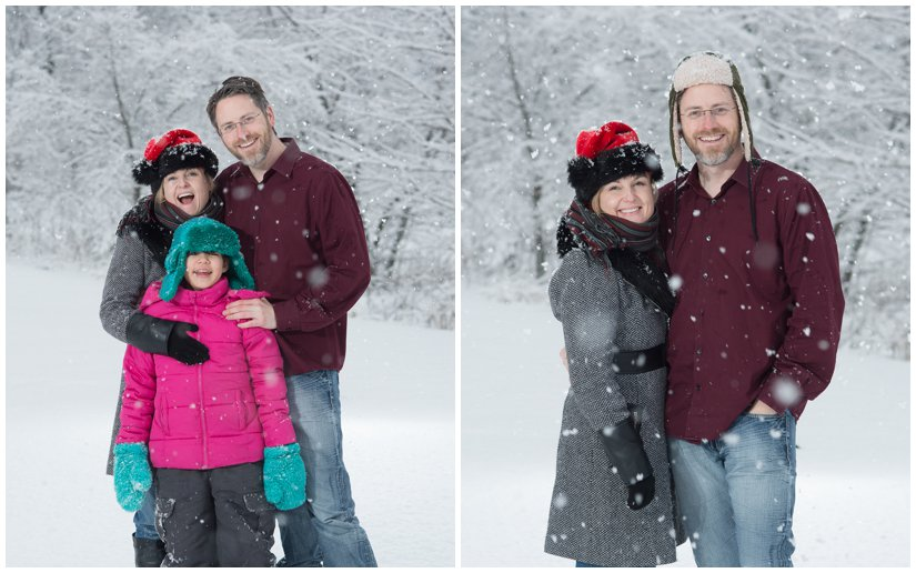 Winter Photos in the Grand Rapids snow