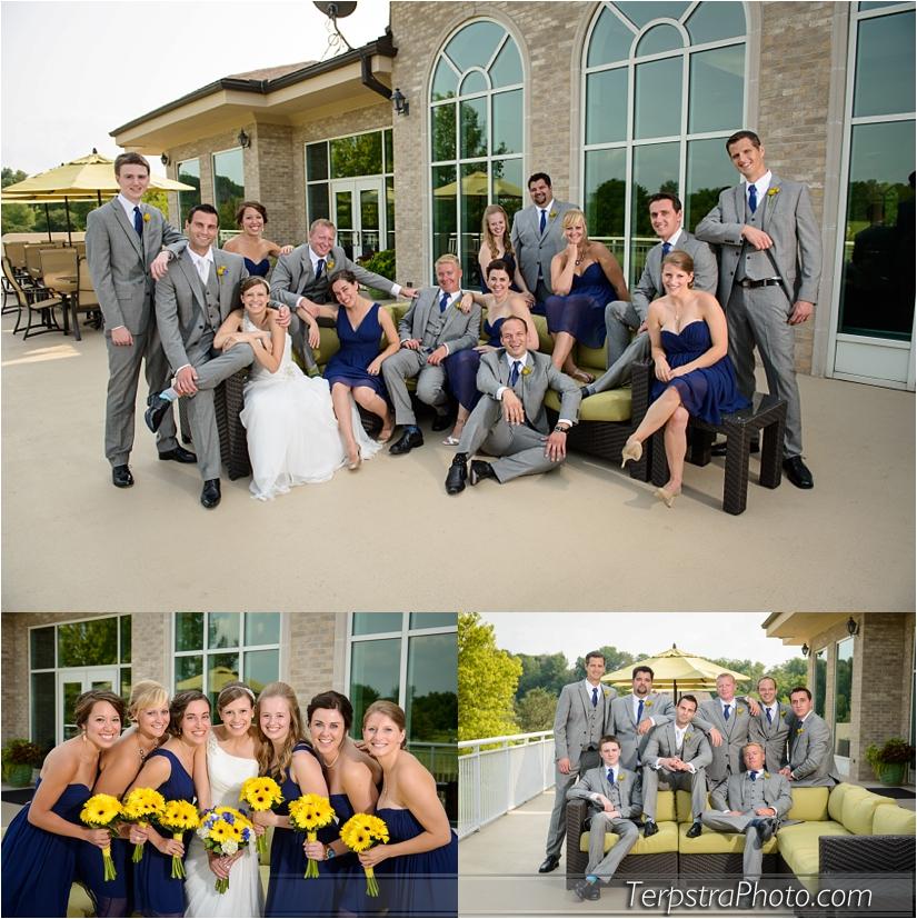 Wedding Photographers at Sand Creek Country Club
