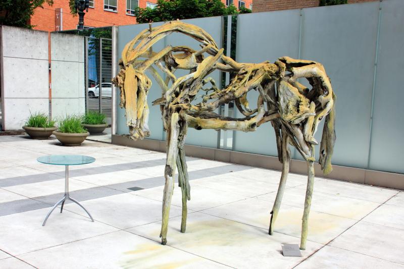 Deborah Butterfield, Dance Horse, 1988, Portland Art Museum