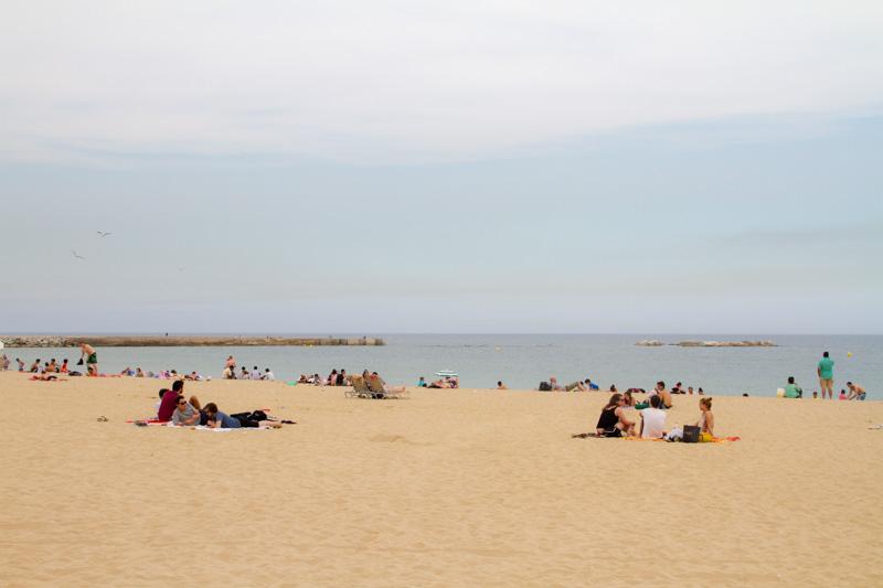Beach, Barcelona, Spain